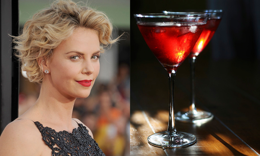 CHARLIZE THERON: Pomegranate Blossom