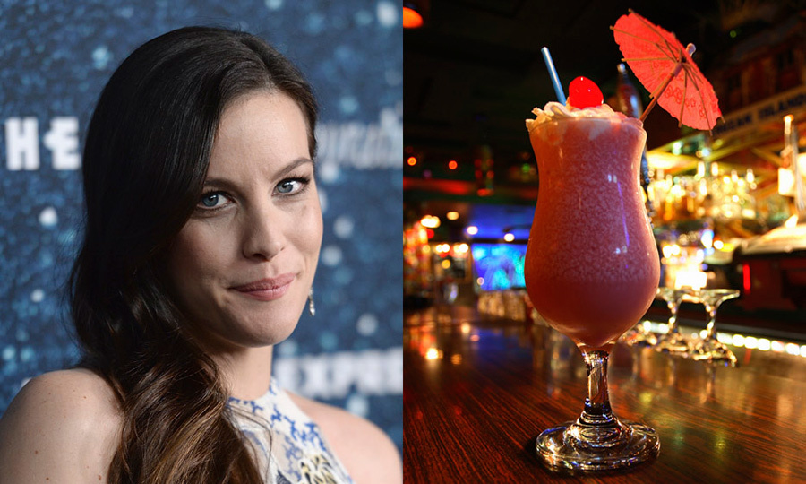 LIV TYLER: Strawberry daiquiri 