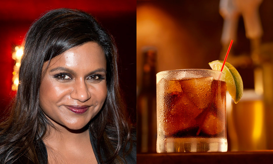 MINDY KALING: Dark and stormy 