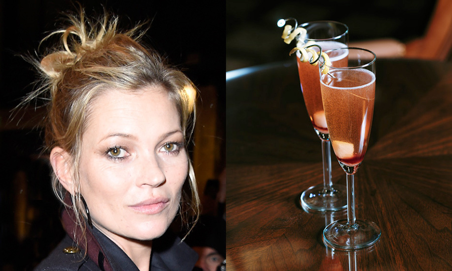 KATE MOSS: French 76