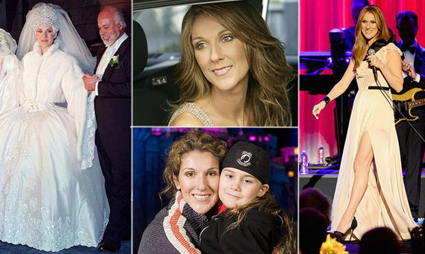 1) A life in the spotlight: 46 photos of Canadian megastar Celine Dion