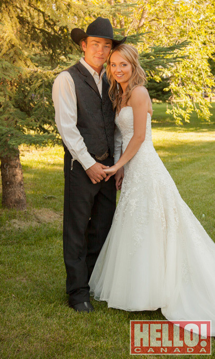 6) 'Heartland' actress Amber Marshall's rustic ranch wedding