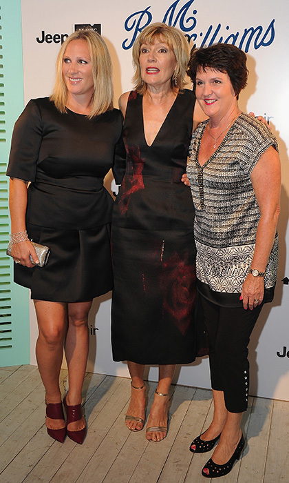 Zara Tindall (left)
