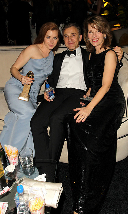 Amy Adams, Christoph Waltz and Judith Holste Photo: © Getty Images