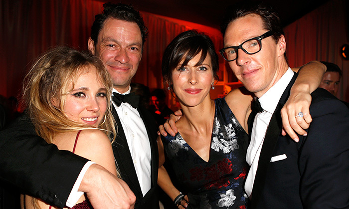 Juno Temple, Dominic West, Sophie Hunter and Benedict Cumberbatch Photo: © Getty Images