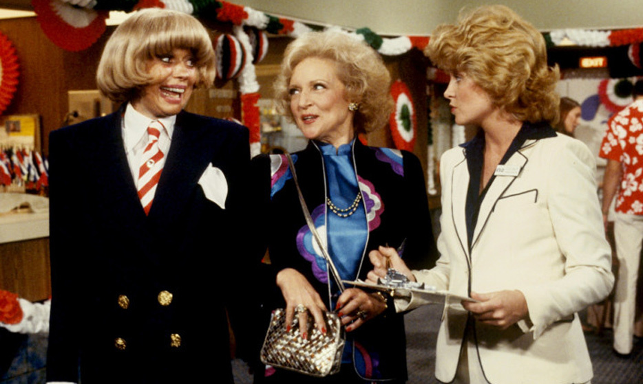 Betty set sail with Carol Channing and Lauren Tewes in the romance-heavy series 'The Love Boat' in the late '70s.