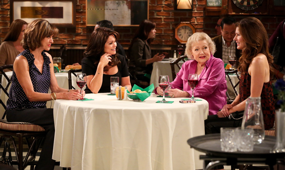 Even into her late 80s, Betty showed no signs of slowing down when she joined the all-star cast (including Valerie Bertinelli, Jane Leeves and Wendi Malick) of the hit comedy 'Hot in Cleveland' in 2010.