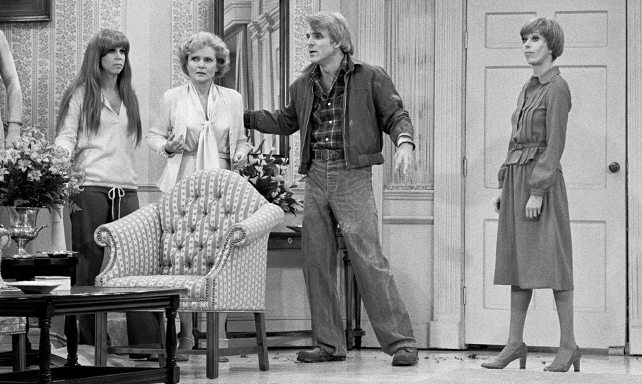 Betty served up the laughs with Vicki Lawrence, Carol Burnett and guest-star Steve Martin in a memorable episode of the 'Carol Burnett Show' in 1978.