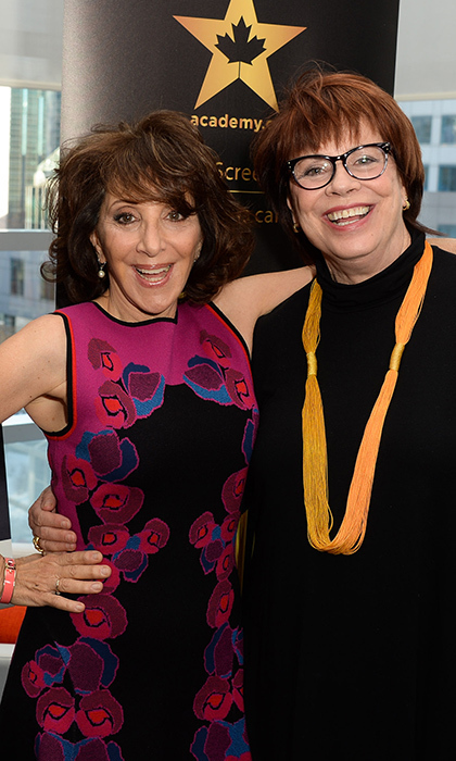 Andrea Martin and Helga Stephenson