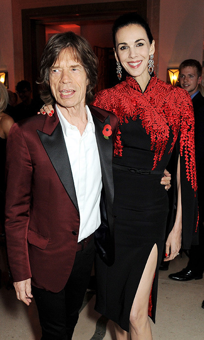 Mick and L'Wren first began dating in 2001.