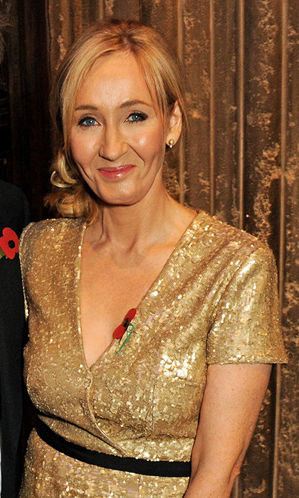 July 31: JK Rowling, 50
