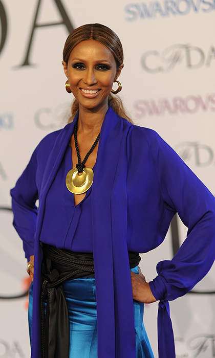 July 25: Iman, 60