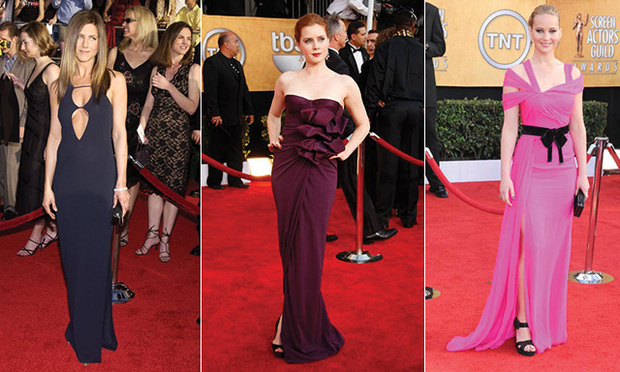 Best gowns from past SAG Awards