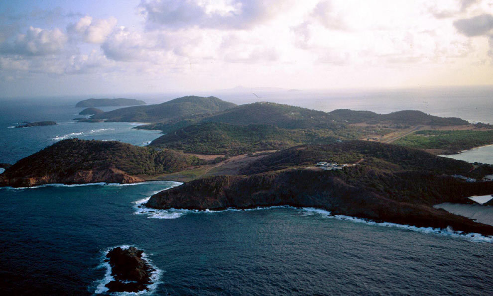 Bought by Colin Tenant in 1958, the 1,400 acre island stands as part of a series called St Vincent and the Grenadines in the West Indies. Mustique has become something of a favourite for William and Kate, who have travelled there at least four times together. Their most recent trip was in January 2012 when the Cambridges and the Middletons joined forces to celebrate Carole's 57th birthday, renting out the £11,500-a-week Aurora House