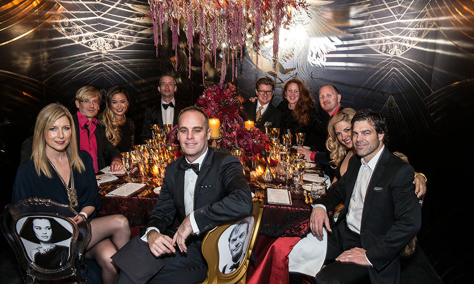 diary of the week  monogram dinner by design and the interior design show party