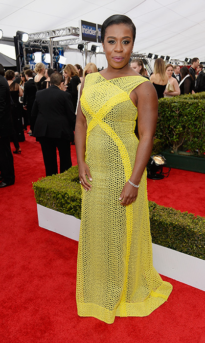 Uzo Aduba in Angel Sanchez.