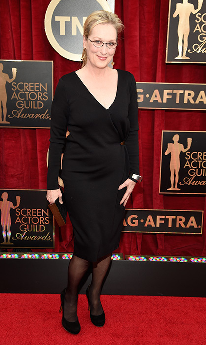 Meryl Streep in Lanvin.