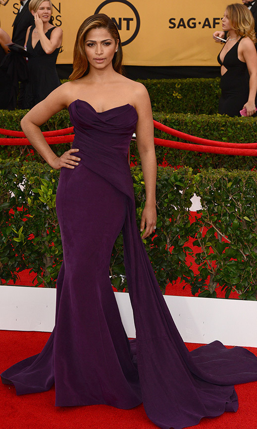 Camila Alves in Donna Karan Atelier. 