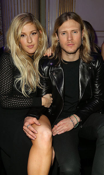 Ellie Goulding and Dougie Poynter. Photo: © Getty Images