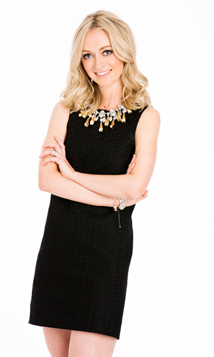 Athlete and Communications expert Jenny Scrivens, wife of Edmonton Oilers goaltender Ben Scrivens.