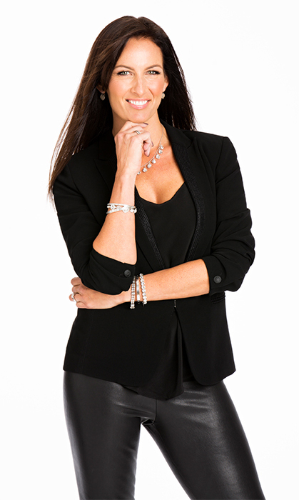 Hockey wives' connector and choreographer Brijet Whitney, married to recently retired Ray Whitney.