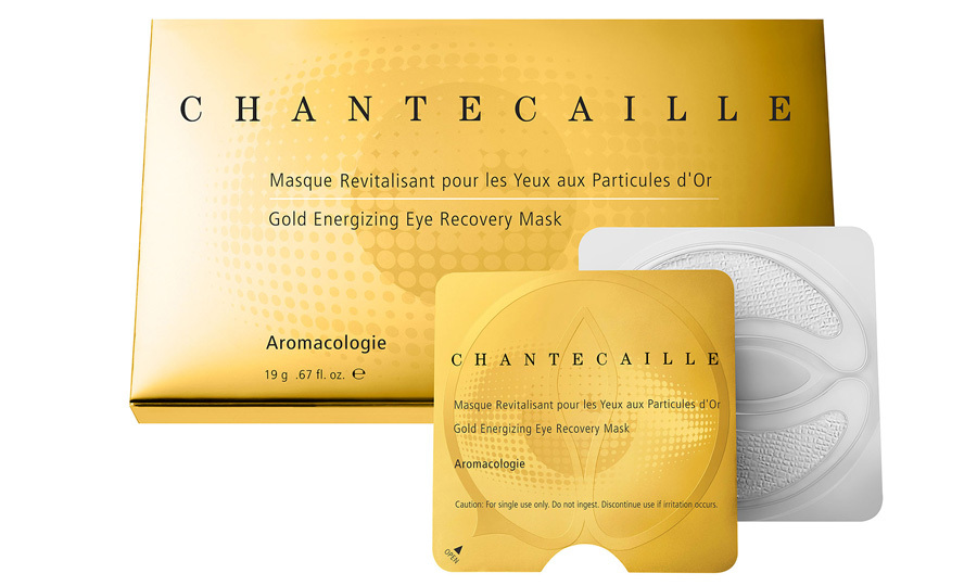 Hide dark circles and minimize puffiness with these eye pads. Chantecaille Gold Energizing Eye Recovery Mask, $195, Holt Renfrew, holtrenfrew.com