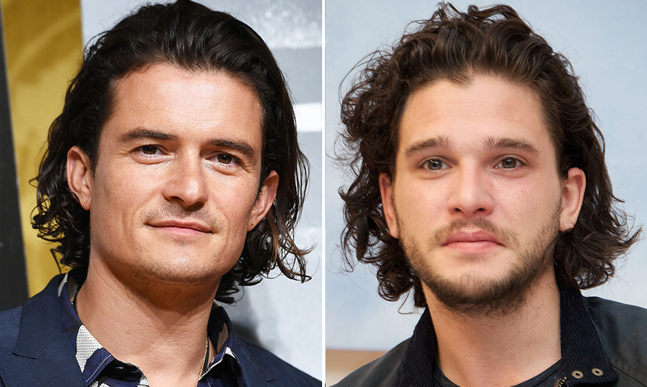 Orlando Bloom and Kit Harrington are the handsome, dimpled stars of two separate sweeping fantasy dramas - <em>Lord of the Rings</em> and <em>Game of Thrones,</em> respectively.