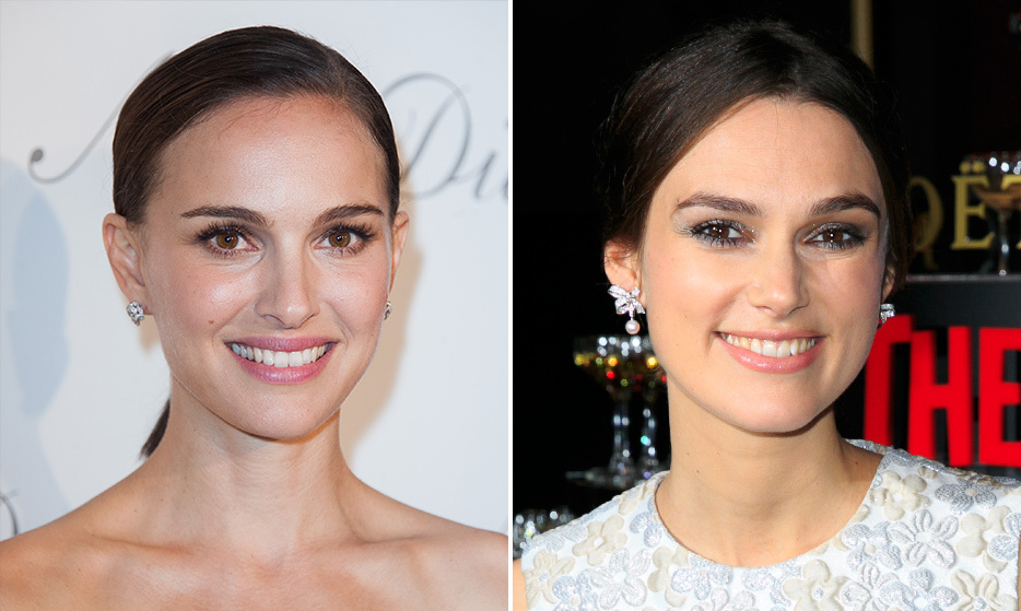 "It's no surprise that Keira Knightley was cast as a Natalie Portman's younger self in the first <em>Star Wars</em> movie. The two brunette actresses have beautiful brown eyes and delicate, elfish facial features. ""Natalie Portman I get a lot, and I get chased through airports,"" said Keira on being mistaken for her doppelgänger. ""I feel quite sorry for her because she must get chased a lot because it's happened like five times where someone's been like, 'Natalie! Natalie! Natalie!' And I'll sign and take a picture as Natalie.""