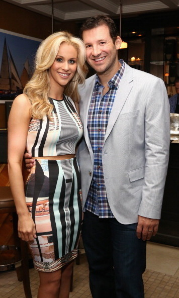 Tony Romo married former TV news reporter and Chace Crawford's sis Candice on May 28, 2011. The couple, shown here at a White House Correspondents' Dinner event in May 2014, are parents to sons Hawkins, 2, and Rivers, born in March 2014.
