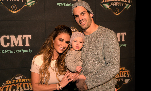 New York Jets wide receiver Eric Decker and singer Jessie Decker's relationship plays out in front of the E! cameras. The two welcomed daughter Vivianne in March 2014.