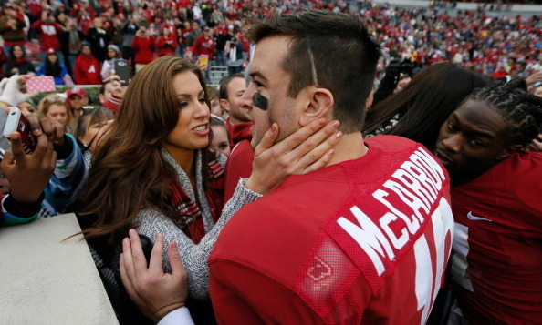 Cincinnati Bengals quarterback AJ McCarron met his wife, former Miss Alabama Katherine Webb, during his time at the University of Alabama.