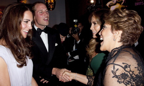 Jennifer Lopez was the perfect daughter and brought her mother Guadalupe to meet the Duke and Duchess of Cambridge at the BAFTA Brits to Watch party in 2011.