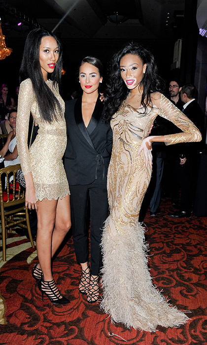Jeri Ali, Chloe Wilde and Chantelle Winnie.