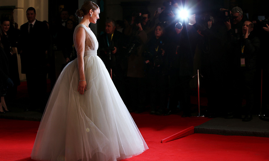 Laura Haddock wowed the crowds in her stunning Ashi Studio dress. The 29-year-old attended the awards with her husband, Hunger Games actor Sam Claflin, and was hailed by many as one of the best dressed ladies of the night.