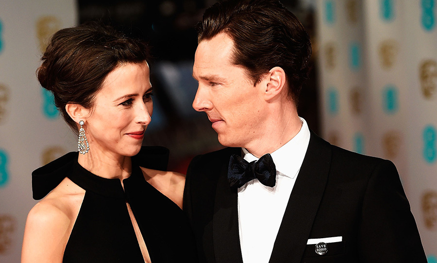 "Benedict Cumberbatch shared a sweet moment with his fiancée Sophie Hunter on the red carpet. The couple, who are expecting their first child together this spring, shared a tender glance which resulted in Twitter users dubbing them ""the definition of love"".