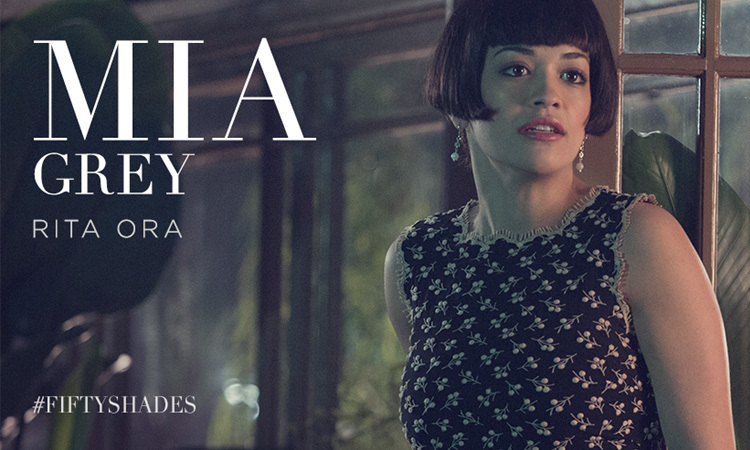 British artist Rita Ora plays the role of Christian's sister, Mia Grey, in the film but her casting came in a roundabout way. Rita originally approached the team behind the film to ask if she could be involved with the soundtrack, but after meeting her, they decided to actually cast her in the film instead.