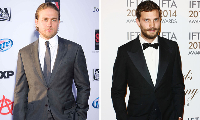 Jamie Dornan was not the first choice for the role of Christian Grey – Sons of Anarchy's Charlie Hunnam was originally cast in the coveted role, but later had to turn it down, citing his commitment to the filming schedule for the American series as the reason.