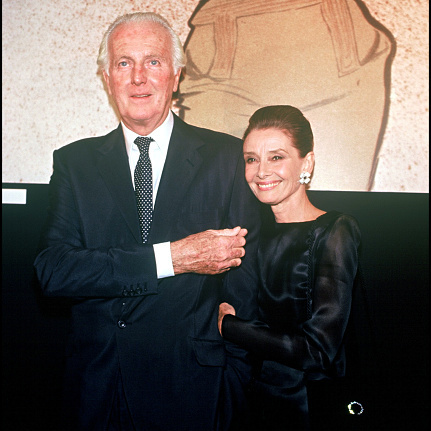 Audrey Hepburn & Hubert De Givenchy