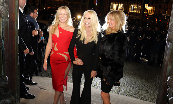 Kate Hudson & Donatella Versace