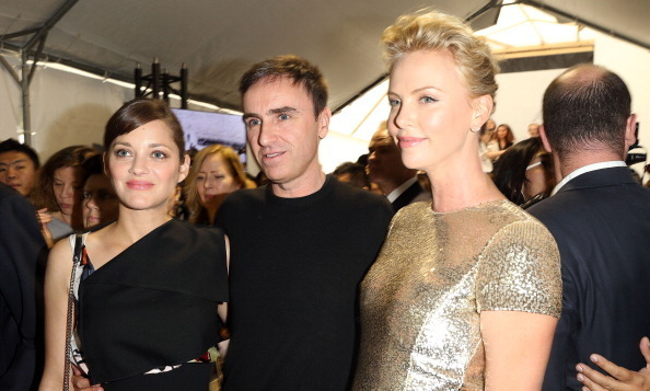 Charlize Theron & Raf Simons