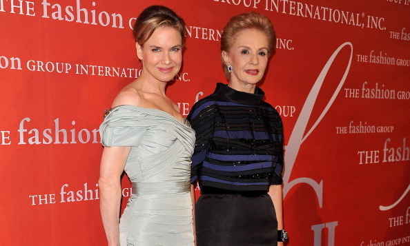 Renee Zellweger & Carolina Herrera