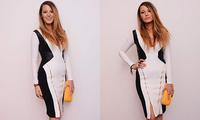 Blake Lively Gorgeous At New York Fashion Week Two Months