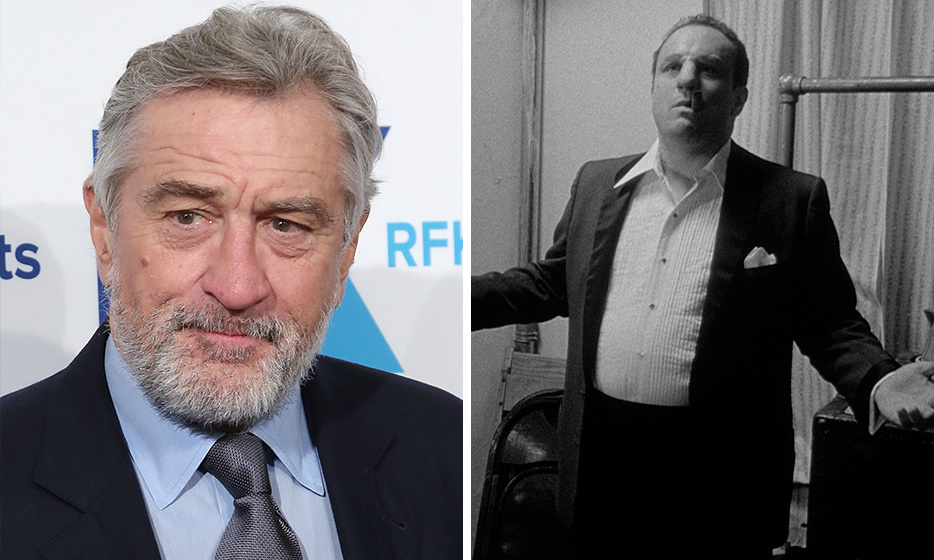 The original body transformation, Robert De Niro gained 60 pounds to play the boxer Jake LaMotta in the 1980s film, 'Raging Bull.' He won his second Oscar for all his hard work.