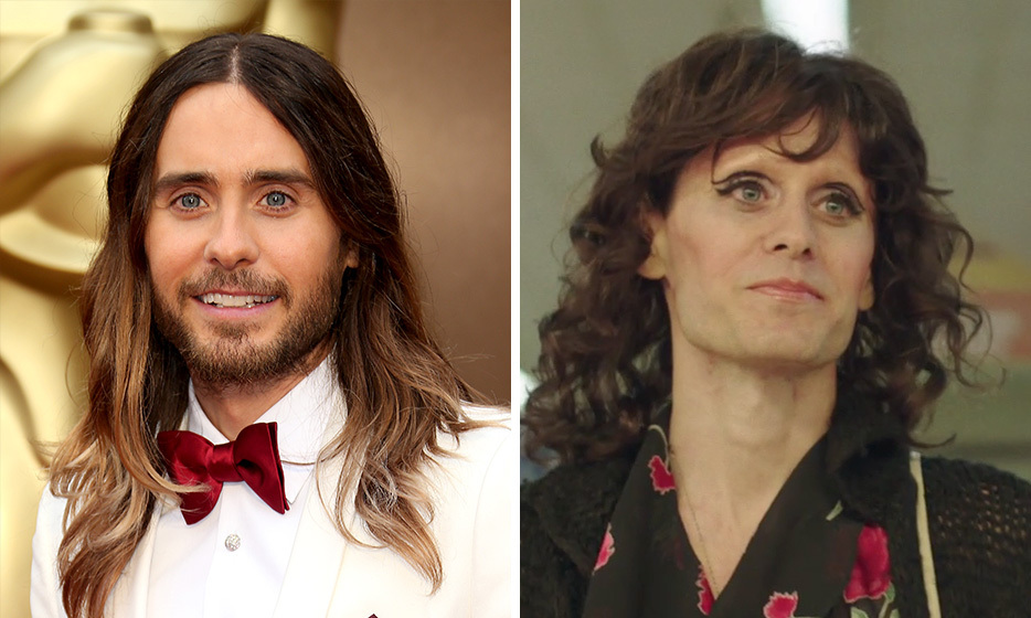 Jared Leto, too, radically altered his appearance to play Rayon, an HIV-positive transgender woman in 'Dallas Buyers Club.' Not only did he get down to 114 pounds, but he also waxed his entire body – including his eyebrows!