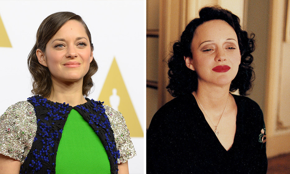 It's amazing what some painted-on eyebrows can do! For her performance as Edith Piaf in 'La Vie En Rose,' Marion Cotillard took home the Oscar for Best Actress.