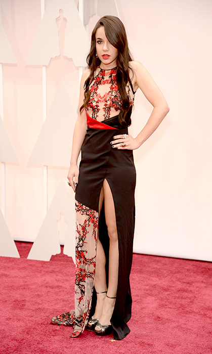 Lorelei Linklater in Gabriela Cadena. Photo: Getty