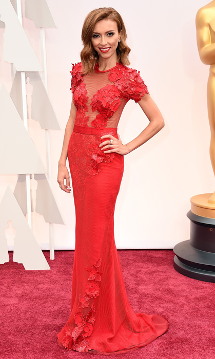 Giuliana Rancic in Mireille Dagher. Photo: Getty