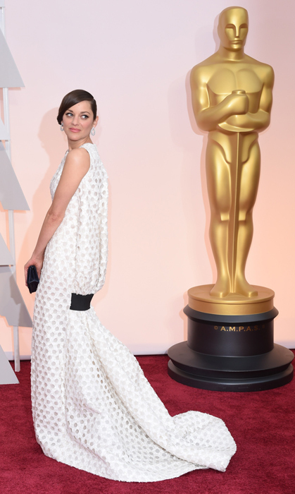 Marion Cotillard in Dior. Photo: Getty