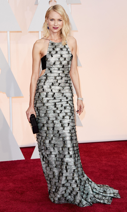 Naomi Watts in Armani. Photo: Getty