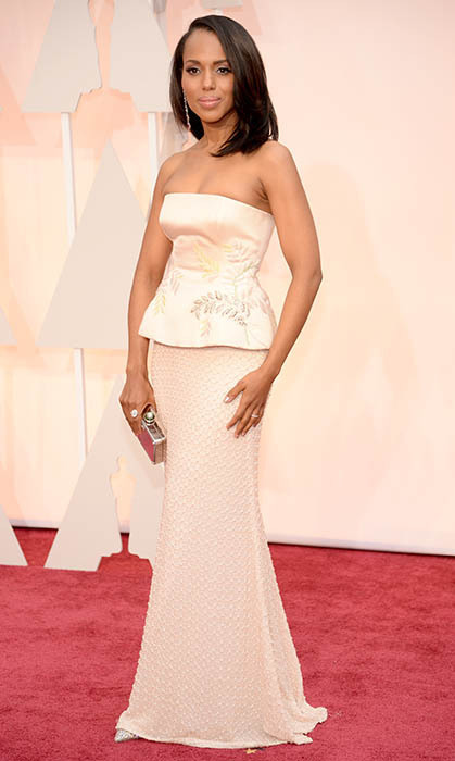 Kerry Washington in Miu Miu. Photo: Getty